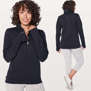 NWT Lululemon Forever Warm Pullover-Navy